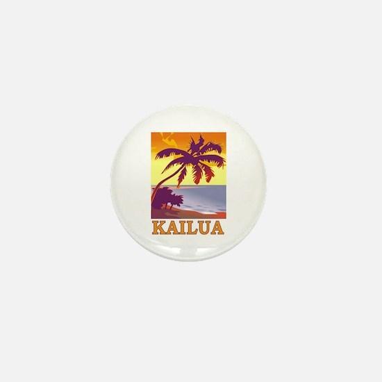 Funny Kailua Mini Button