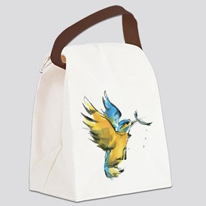 Kingfisher Canvas Lunch Bag