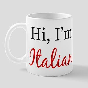 Hi, I am Italian Mug
