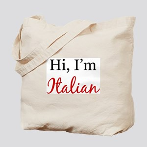 Hi, I am Italian Tote Bag