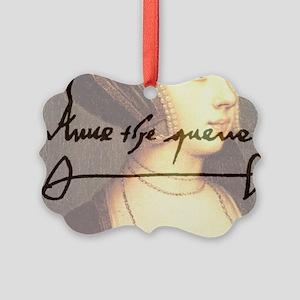 Anne Boleyn Picture Ornament