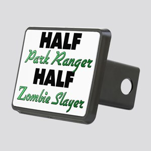 Half Park Ranger Half Zombie Slayer Hitch Cover