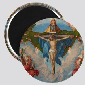 Adoration of the Trinity by Albrecht Durer Magnet