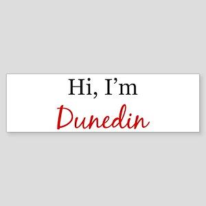 Hi, I am Dunedin Bumper Sticker