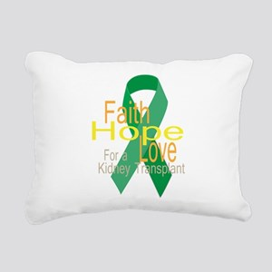 Faith,Hope,love For a Kidney Transplant Ribbon Rec