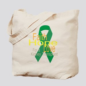 Faith,Hope,love For a Kidney Transplant Ribbon Tot