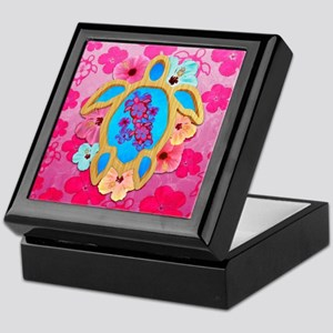 Hawaiian Tropical Honu Keepsake Box