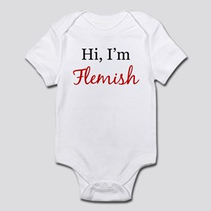 Hi, I am Flemish Infant Bodysuit