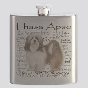 Lhasa Apso Traits Flask