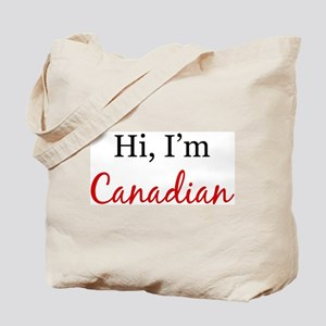 Hi, I am Canadian Tote Bag