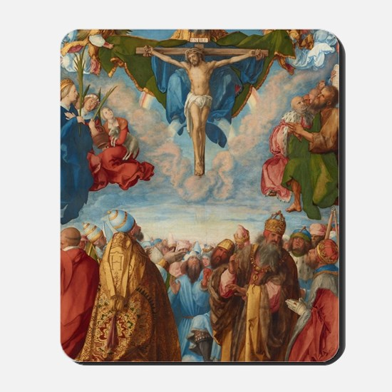 Albrecht Durer Adoration of the Trinity Mousepad