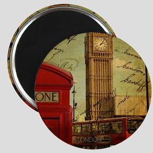 vintage London UK fashion  Magnet
