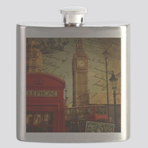 vintage London UK fashion  Flask