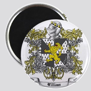 Williams Family Crest 2 Magnet