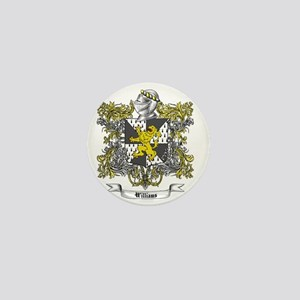 Williams Family Crest 2 Mini Button