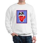 Valentine Saint Bernard Sweatshirt