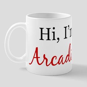 Hi, I am Arcadian Mug