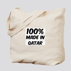 100 Percent Qatar Tote Bag
