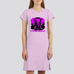 Stomp out cancer Women's Nightshirt