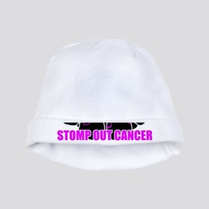 Stomp out cancer baby hat