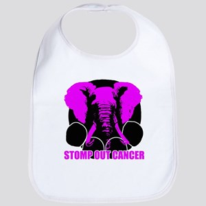 Stomp out cancer Bib