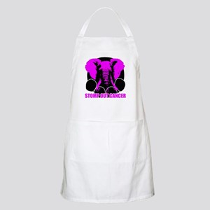 Stomp out cancer Apron