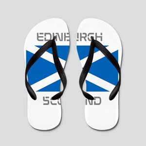 Edinburgh Scotland Flip Flops