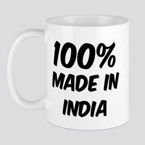 100 Percent India Mug