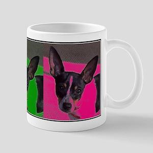 POP ART RAT TERRIER Mug