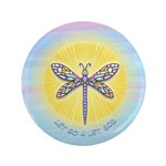 "LetGo-Dragonfly1 3.5"" Button (100 pack)"