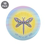 "LetGo-Dragonfly1 3.5"" Button (10 pack)"