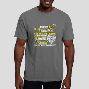 Nurse's Husband T Shirt, Mens Comfort Colors Shirt