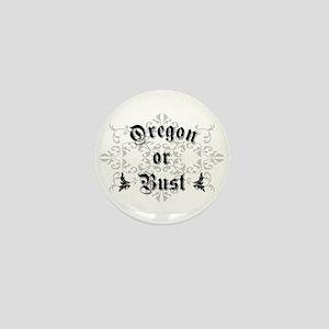Oregon or Bust Mini Button