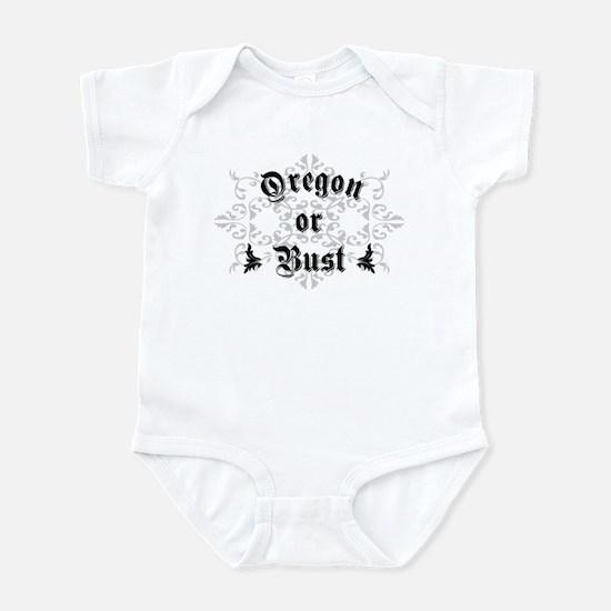 Oregon or Bust Infant Bodysuit