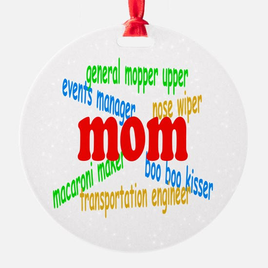 Supermom Ornament