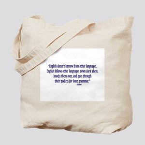 LooseGrammarSm Tote Bag
