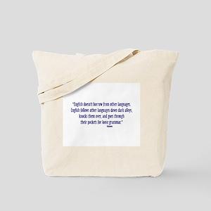 LooseGrammarSm Tote Bag