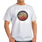 Robins with Berries Ash Grey T-Shirt