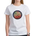 Robins with Berries Women's T-Shirt
