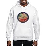 Robins with Berries Hooded Sweatshirt