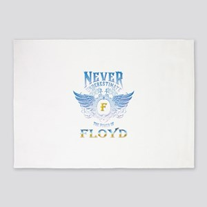 never underestimate the power of Fl 5'x7'Area Rug
