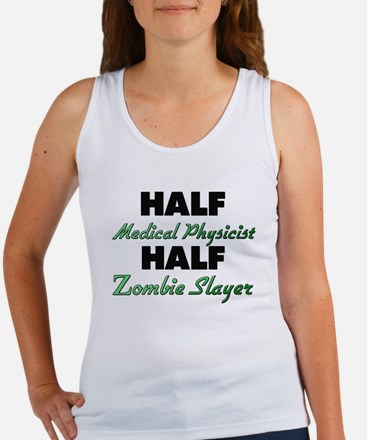 Half Medical Physicist Half Zombie Slayer Tank Top