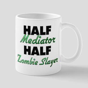 Half Mediator Half Zombie Slayer Mugs