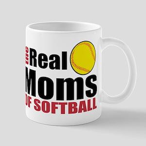 The real moms of softball Mugs