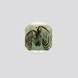 Zebras Mini Button