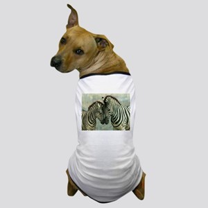 Zebras Dog T-Shirt