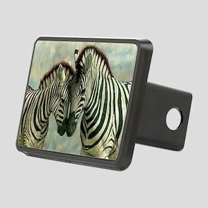 Zebras Rectangular Hitch Cover