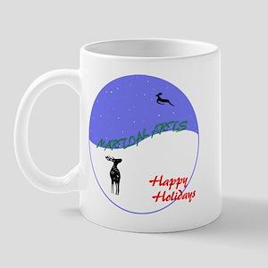 Martial Arts Holiday Mug