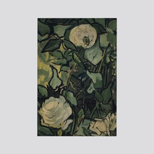 Roses by Vincent van Gogh Rectangle Magnet