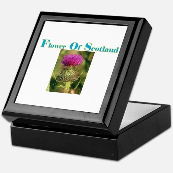 Flower Of Scotland(3) Keepsake Box